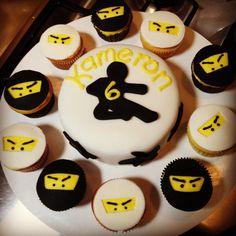 Ninja Cupcake Toppers Bijoux Cakery Pinterest Photos Cupcake