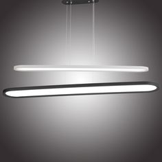 Fashion LED oval chandelier, ultra-thin UFO restaurant pendant lamp