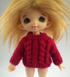 beep beep: Simply Sweaters: BJD Lati Yellow & Pukifee Knitting Patterns