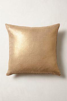 Shimmering Sunset Pillow #anthropologie