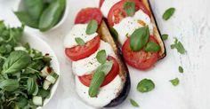 Mozzarellamunakoisot ja salaatti | Kasvisruoat | Reseptit | Reseptit ja menut | Stockmann.com