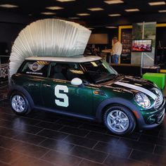 Gotta love this MINI whether you are a MSU fan or not! Find out more info on the raffle at msurally4research.com #Padgram
