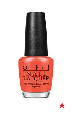 Celebrate summer with a manicure that's as bright as the sun! OPI nail polish in Can't aFjord Not To is an electric coral that demands attention. Don't go out one more night out without it!