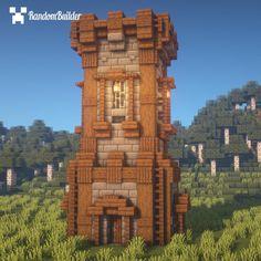 Video Minecraft, Minecraft Building Guide, Easy Minecraft Houses, Minecraft Pictures, Minecraft Castle, Minecraft Plans, Minecraft House Designs, Amazing Minecraft, Minecraft Tutorial