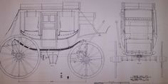 1845 Concord Coach drawing