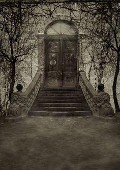 Dark Door BG... by the-night-bird.deviantart.com on @DeviantArt