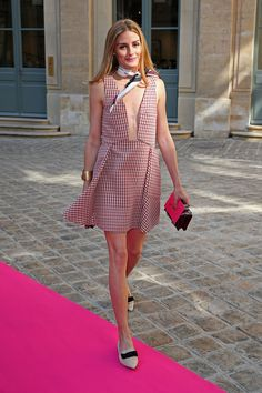 Olivia Palermo's Street Style Take on French Girl Fashion - Vogue