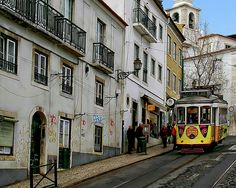The first tramway in Lisbon entered service on 17 November 1873, as a horsecar line. On 30 August 1901, Lisbon's first electric tramway commenced operations. Within a year, all of the city's tramways had been converted to electric traction.