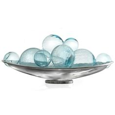 Decorative Glass Balls For Bowls Marbled Glass Orb  Home Decor  Pinterest