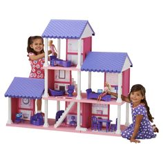 Have to have it. American Plastic Toys Fashion Doll Delightful Dollhouse - $81.51 @hayneedle