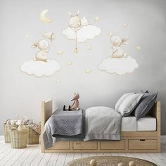 34 Ideas for children room stars nursery ideas Baby Boy Rooms, Baby Bedroom, Baby Room Decor, Kids Bedroom, Nursery Decor, Wall Decor, Nursery Ideas, Star Nursery, Nursery Wall Decals