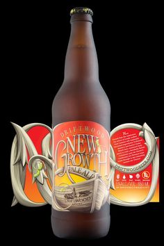 New Growth Pale Ale on Packaging of the World - Creative Package Design Gallery