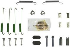 Wagner H7401 Parking Brake Hardware Kit, Rear, Model: H7401, Car & Vehicle Accessories / Parts. Maintains proper movement for safe, effective stopping performance. Helps deliver a quieter braking system. Produces smoother pedal travel. Provides longer brake life and performance. Install Wagner with total confidence.