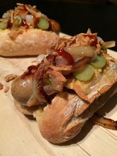 Broodje HotFoozle (hotdog)
