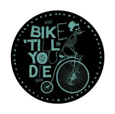 BIKE T-SHIRT by Viktor Gountaras, via Behance
