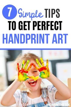 7 Simple Tricks to Getting Perfect Handprint Art 7 Simple Tricks to Getting Perfect Handprint Art Mom in the Six Easy Toddler Crafts, Toddler Fun, Toddler Preschool, Infant Activities, Activities For Kids, Places To Take Toddlers, Silly Songs, Handprint Art, Baby Hands