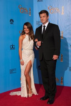 For the Style Seeking Girl: Golden Globes Fashion...  Michele in Ellie Saab - one of my favourites!