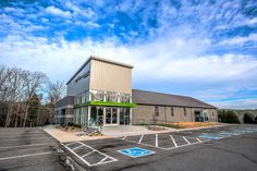 Studio Four Design successfully helped Northstar church to expand their ministry by transforming an existing traditional church structure into a new facility. Modern Church, Take Me To Church, Glass Facades, Church Design, Church Building, Building Design, New Construction, Modern Rustic, Worship