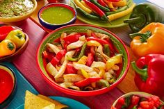 Our Slow Cooker Chicken Fajitas will give you the best of both worlds-- a fix it and forget it food that is also a delicious warm weather favorite.