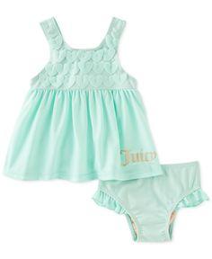 Kids Headquarters Baby Girls' 2-Piece Mint Swimsuit