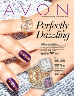 Mary The AVON Lady!: AVON Count Down to Savings, Campaign 5 - 6 '16. Perfectly Dazzling!