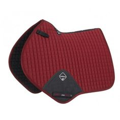 LeMieux ProSport Cotton Close Contact Square - Burgundy - Saddlecloths & Pads - Saddlery - Tack | Equestrian Performance
