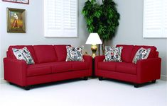 Found it at Wayfair - Serta Upholstery Aries Loveseat Buy Furniture Online, Discount Furniture, Modern Sofa, All Modern, Modern Brands, Red Sofa, Sofas, Love Seat, Upholstery