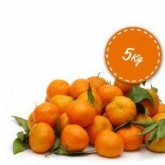 Mandarinas en caja de 5 Kg #naranjas, #mandarinas, #domicilio, #casa, #online, #valencia
