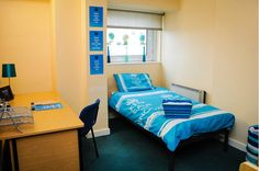 student accommodation in Plymouth Plymouth University, Student Flats, University Hall, Salford, Bed, Furniture, Home Decor, Decoration Home, Stream Bed