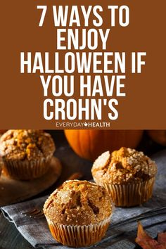 On this day of ghouls and ghosts, children and adults with Crohn's need not fear missing out on treats! Here are some tricks. Crohns, Halloween Treats, Fruits And Vegetables, Crohn's Disease, Yummy Food, Diet, Ghosts, Breakfast, Health
