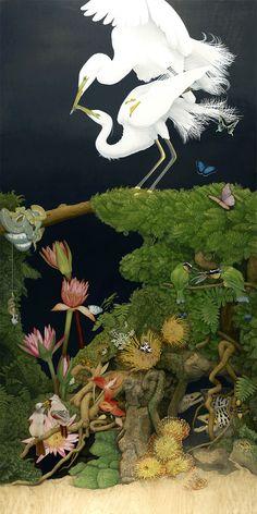 des peintures surréalistes de la vie sauvage par Tiffany Bozic  Dessein de dessin