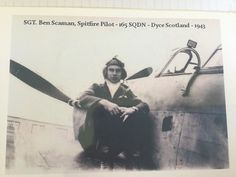 Spitfire pilot Ben Scaman of Banff, Alberta, pioneered the technique in which a pilot could tip one of the missiles off balance, causing it to crash. Banff, Pilot, Scotland, How To Become, German, Deutsch, German Language, Remote