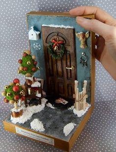 Немного новогодней сказки в миниатюре - Ярмарка Мастеров - ручная работа, handmade
