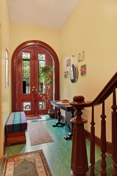 Beautiful entry...love the door.