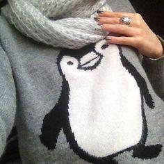 Penguin sweater                                                                                                                                                                                 More