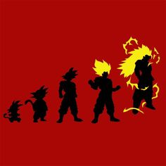 Goku Evolution T-Shirt More Info Behind The Design Son Goku , is the main protagonist of the Dragon Ball metaseries created by Akira Toriyama. He is the adoptive grandson of Grandpa Gohan, the son of