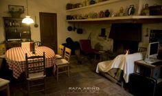 Interiores de la masia - cocina