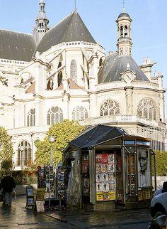 St-Eustache in Les Halles, Paris