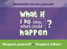 Quote about respect for kids. From a book on teaching respect, responsibility and self control for kids.