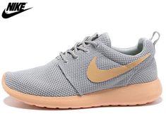 the best attitude c4530 cdd13 2013 Mens Womens Nike Roshe One Mesh Running Shoes Light Gray  Orange,Wholesale Cheap Nike