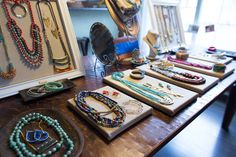 Noonday collection trunk show display