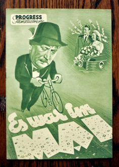 años 50 vintage Movie 8 páginas Flyer de la por bananastrudel