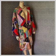 RESERVED 1920s 1930s Crazy Quilt by UnforgettableVintage on Etsy