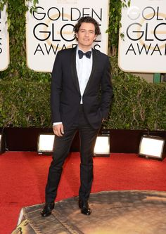 Orlando Bloom at the Golden Globes.
