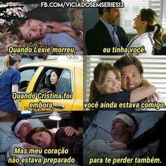 Oh my god Derek '-' Greys Anatomy Frases, Greys Anatomy Derek, Lexie Grey, Cristina Yang, Grey's Anatomy Hospital, Series Movies, Tv Series, Meredith And Derek, You Are My Person
