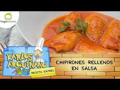 Karlos Arguiñano: Receta de Chipirones rellenos en salsa - YouTube
