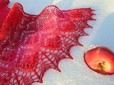 Ravelry: Frosty Aрples Shawl pattern by Lyubov Shalnaya