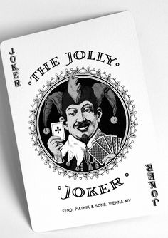 Joker Joker Playing Card, Joker Card, Nice Art, Cool Art, Brian Hyland, Unique Playing Cards, Play Your Cards Right, Jokers Wild, How To Get Away