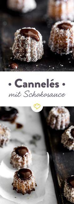 Süß, klein, französisch: Cannéles verlangen zwar etwas Geduld, sind aber die hübschesten kleinen Küchlein, die du je gegessen hast!