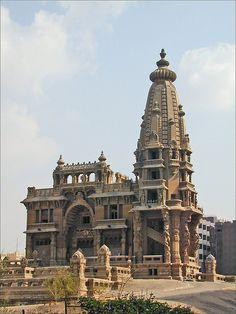 Le palais hindou du baron Empaim (Heliopolis, Le Caire)